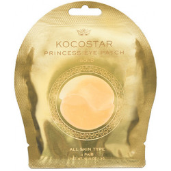 Гидрогелевые патчи для глаз Kocostar Princess Eye Patch Gold