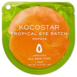 Гидрогелевые патчи для глаз Kocostar Tropical Папайя