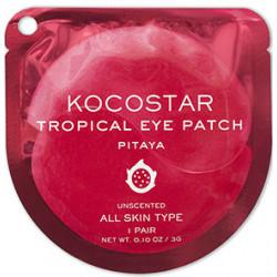 Гидрогелевые патчи для глаз Kocostar Tropical Питахайя