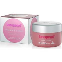 Крем с маслом вечерней примулы, коллагеном и ланолином Lanopearl Vitamin E