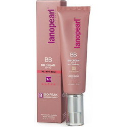 BB крем 5 в 1 розово-бежевый Lanopearl BB Cream SPF15 №1