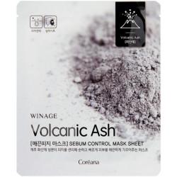Себум-контроль маска с вулканическим пеплом Winage, 23 мл